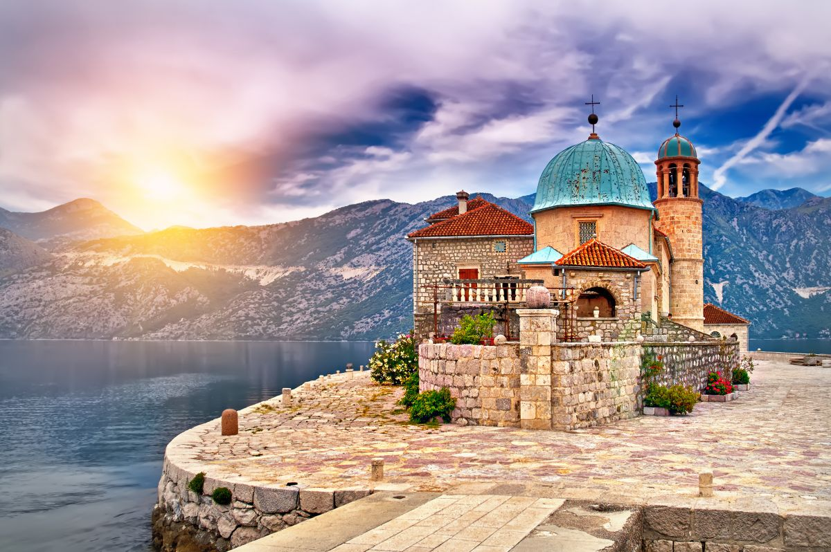 Curious Traveler Visits The Floating Church of Montenegro