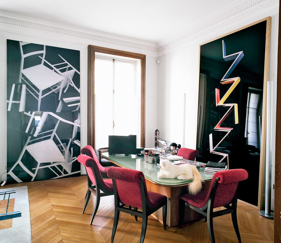 Sneak Peek At Karl Lagerfeld's Office In Paris