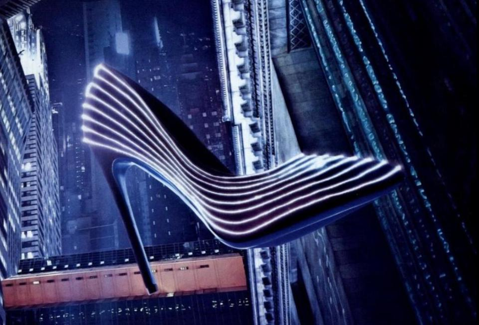 The $3,500 Glow-In-The-Dark Heels