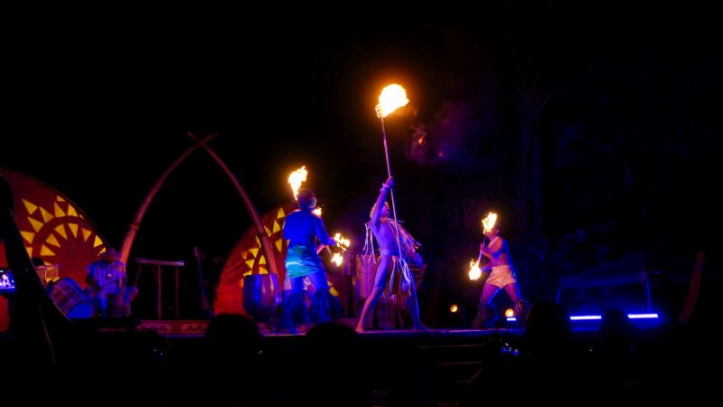 The Luau at Disney's Aulani Resort on Oahu Hawaii