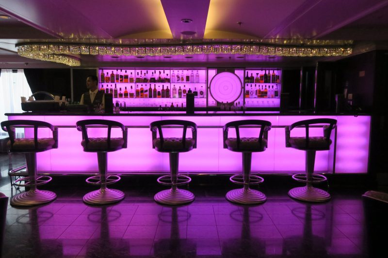 The Casino cocktail lounge serves an array of handcrafted cocktails