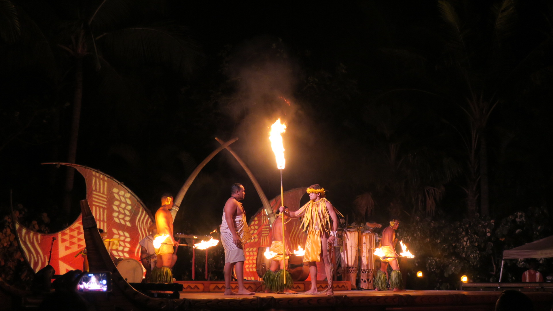 The luau at Disney's Aulani Resort at Kapolei in Oahu, Hawaii (photo by Carrie Coolidge)