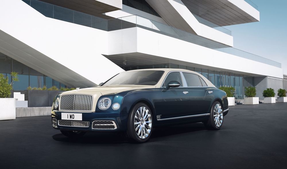 Bentley Mulsanne Hallmark Series by Mulliner Unveiled