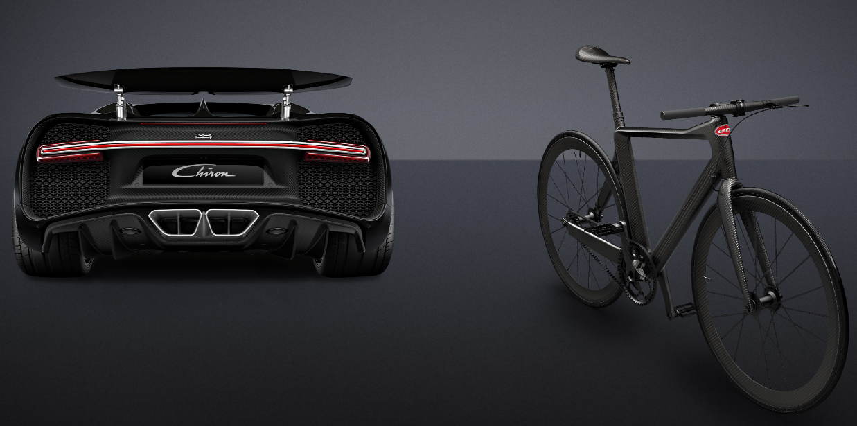 Bugatti Launches A Chiron Inspired Bike