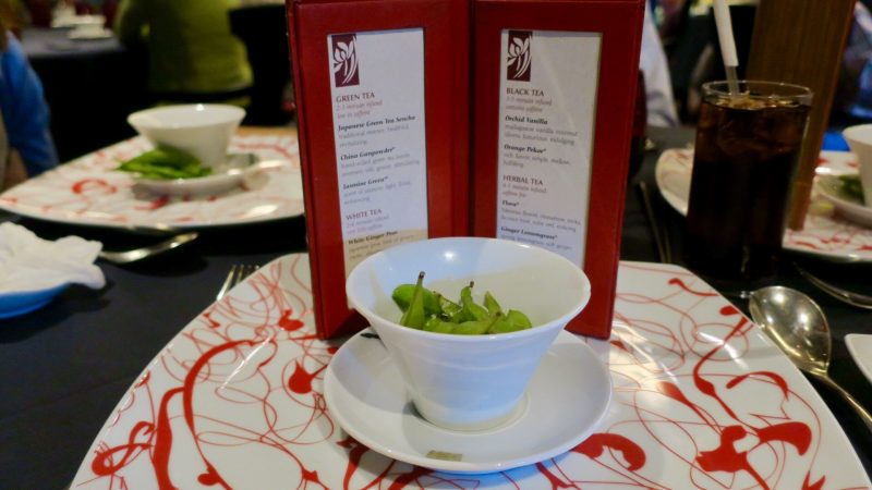 A place setting at Red Ginger
