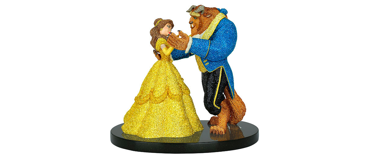 Swarovski Celebrates The Beauty and The Beast Movie With A Unique Masterpiece