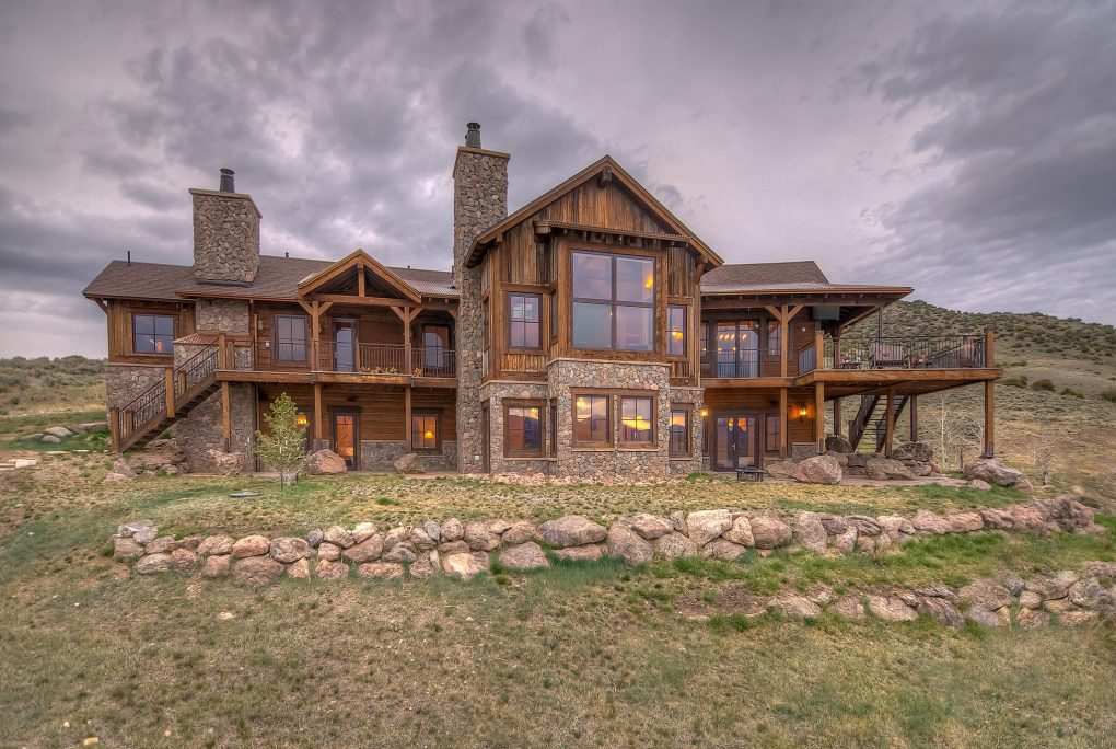 Daily dream home the lakehouse at williams peak ranch for Lakehouse homes
