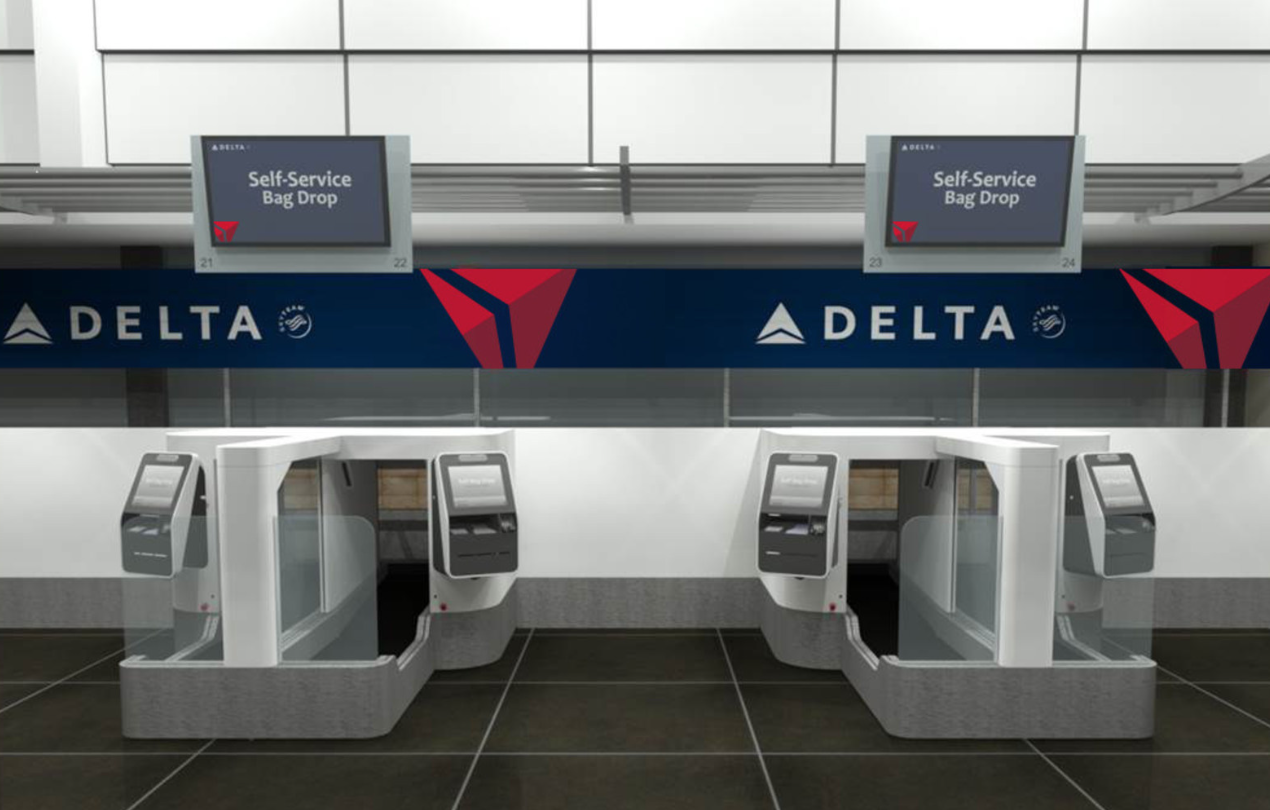 Delta Air Lines Testing Facial Recognition Technology For Self-Serve Baggage Drop-Off