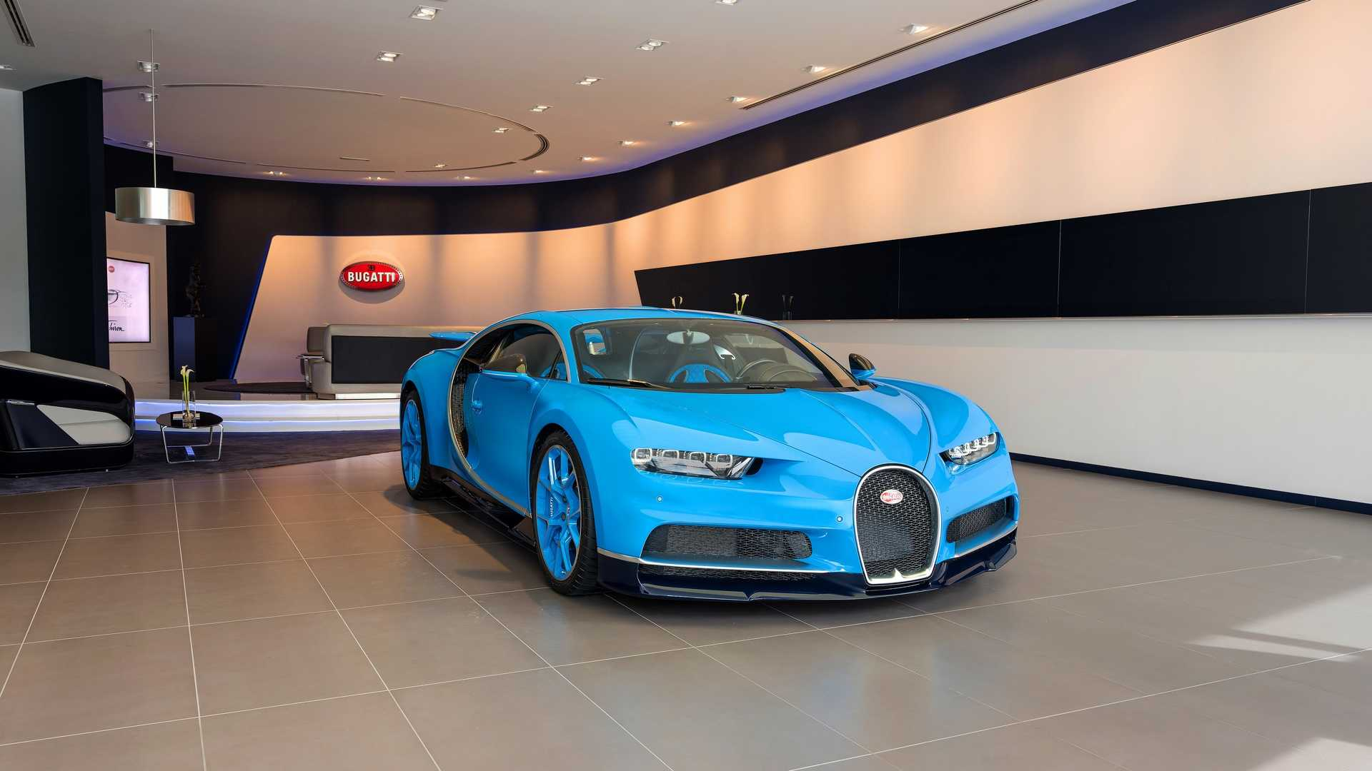 World's Largest Buggati Showroom Opens In Dubai