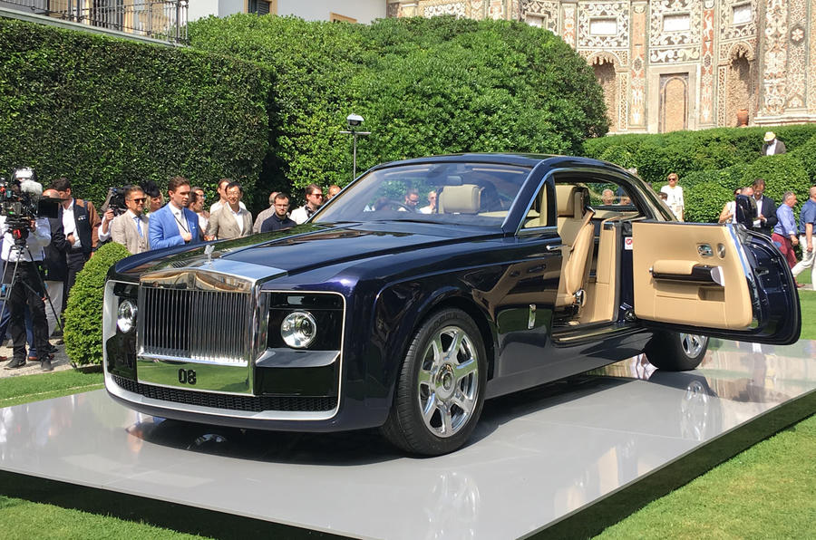 Rolls-Royce Unveils $12.8M Luxury Car, Sweptail
