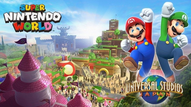 Super Nintendo World Opening At Universal Studios Japan In 2020