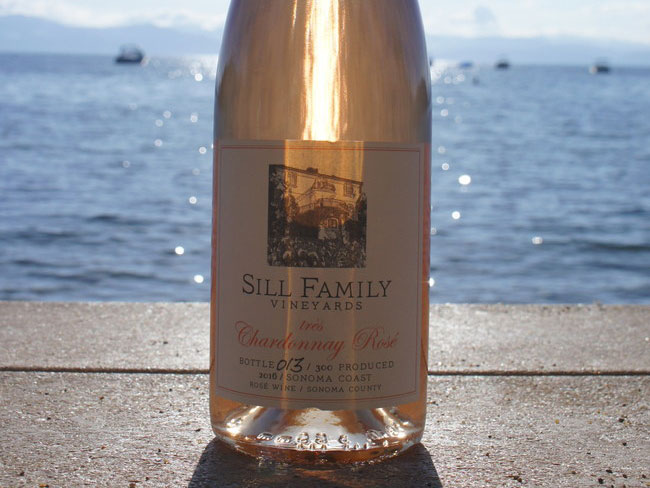 Chardonnay Rosé From Sill Family Vineyards