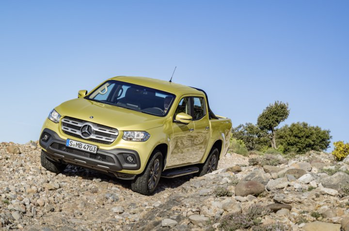 The Mercedes-Benz X-class Pickup Truck Is Here