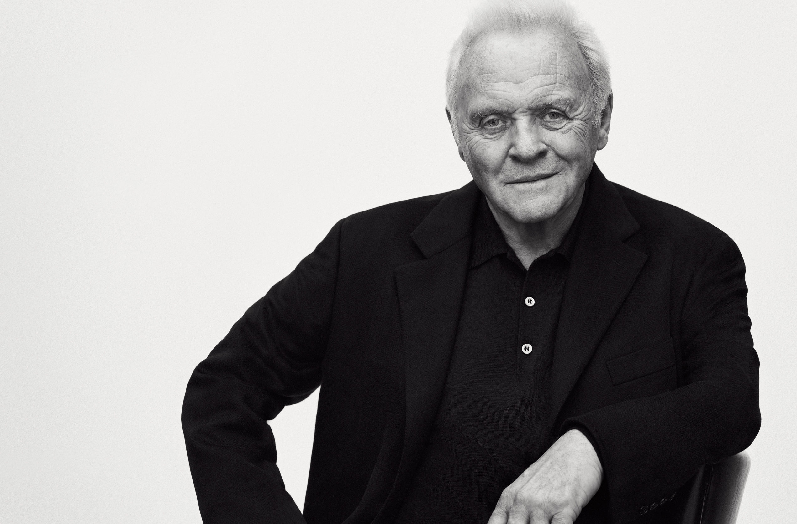 Sir Anthony Hopkins For Brioni Pursuitist