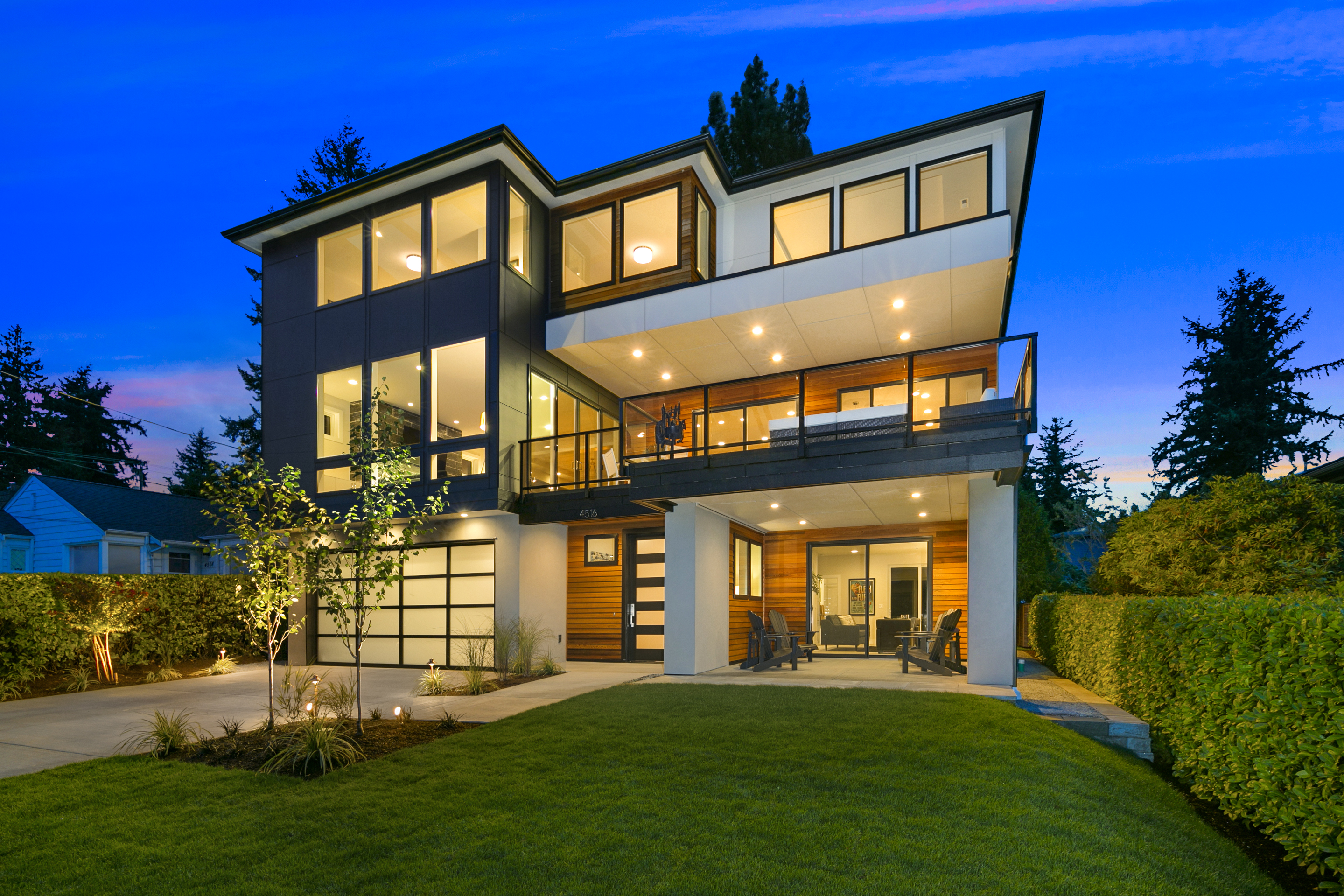 Daily dream home northwest contemporary pursuitist for Northwest contemporary homes