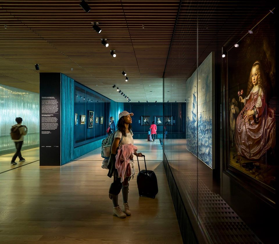 Dutch Masterpieces On Display At Amsterdam Airport Schiphol