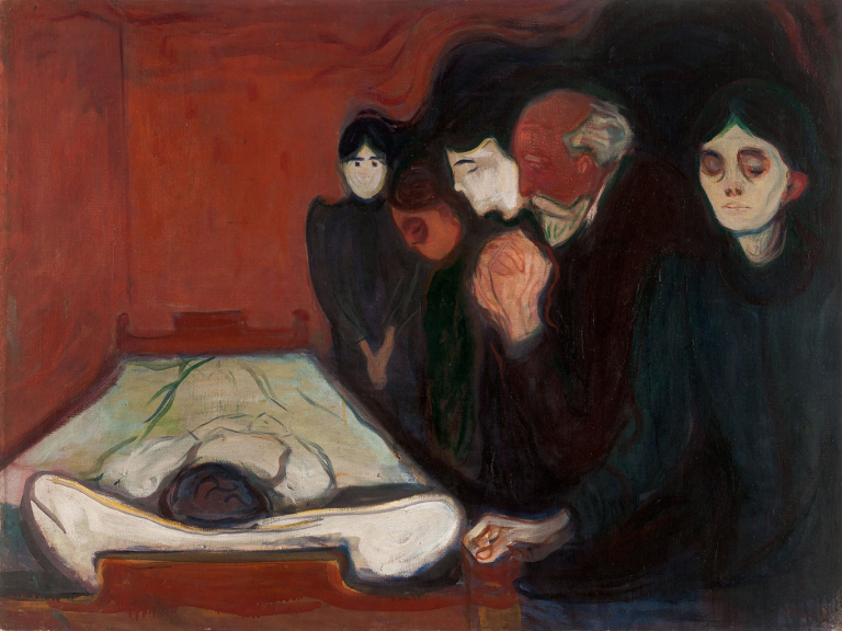Edvard Munch Exhibit At The Metropolitan Museum of Art