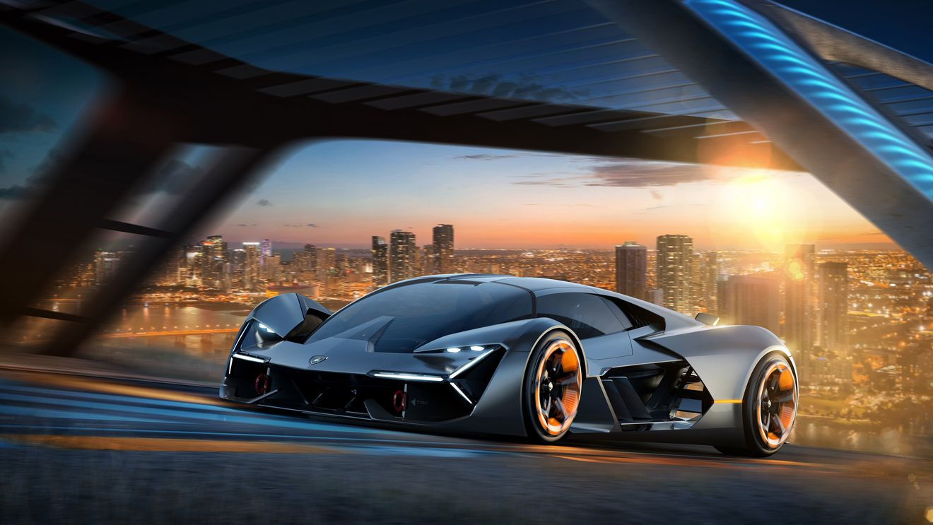 Lamborghini's Electric Concept Car