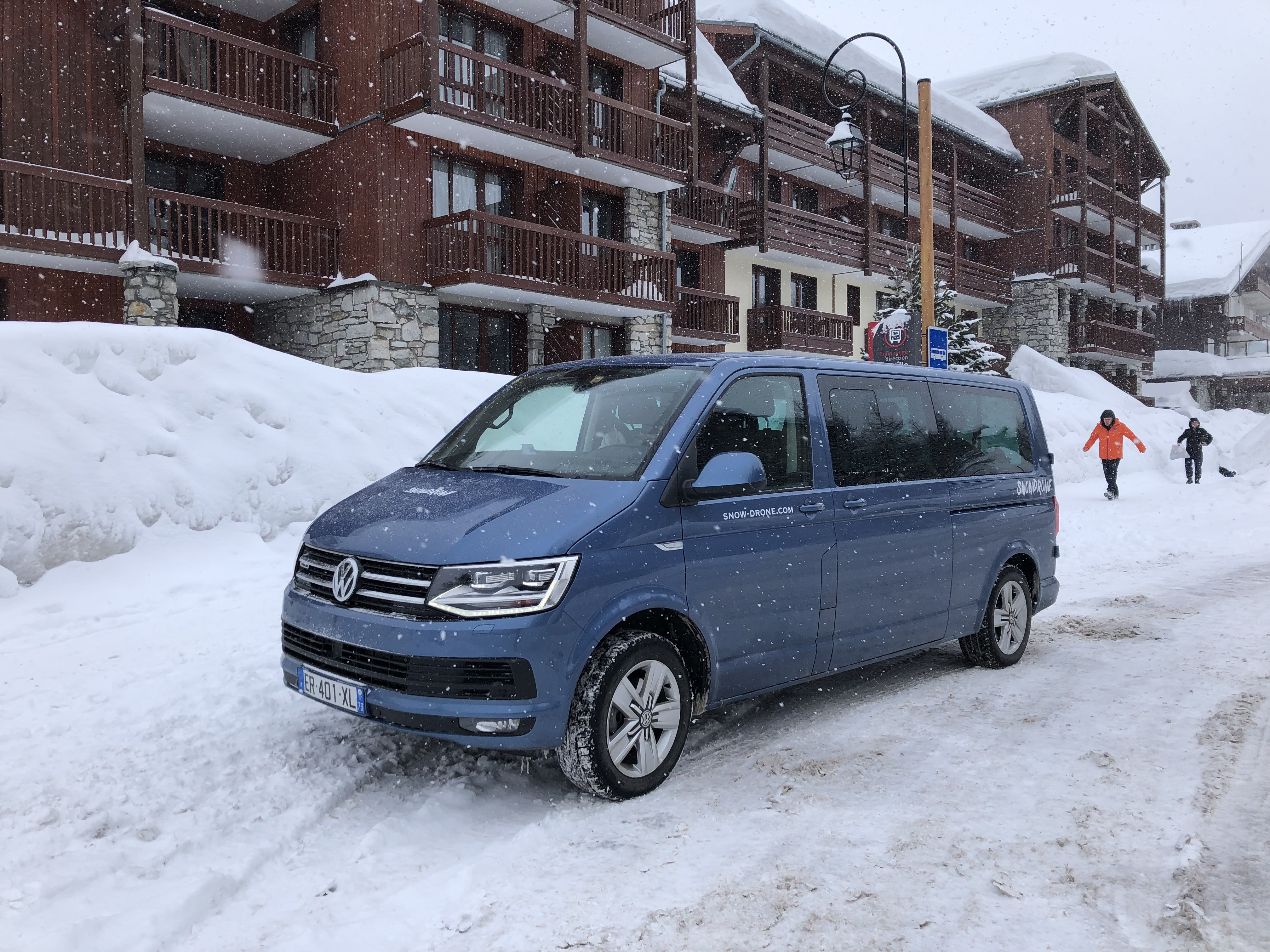 A driver from Snow Drone will meet you at arrivals to transport you to Val d'Isère. Photo by Carrie Coolidge
