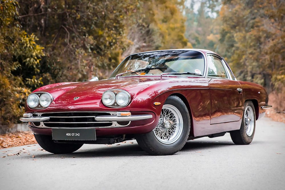 Paul McCartney's Lamborghini 400 GT