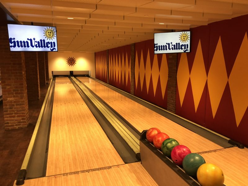 Sun Valley Resort Bowling Photo by Carrie Coolidge