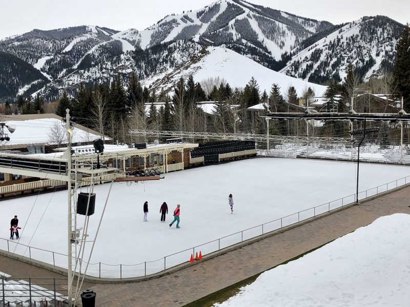 Sun Valley Resort's Ice Skating Rink