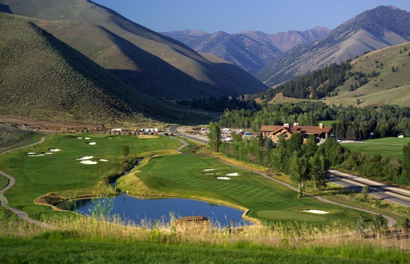 Sun Valley's 18-hole championship golf course