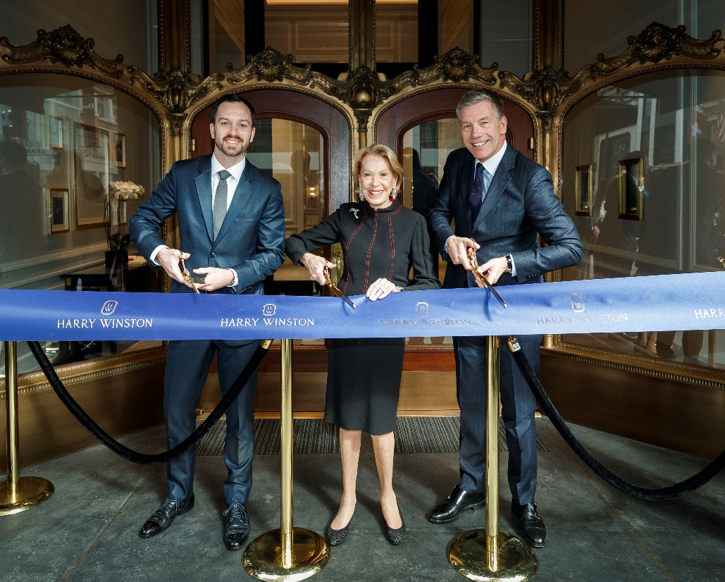 Harry Winston Opens San Francisco Salon