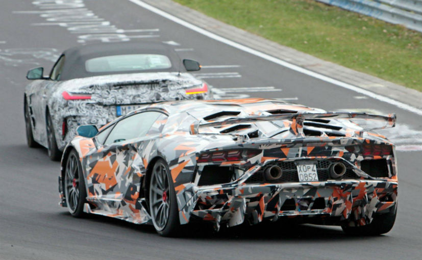Most Powerful Lamborghini Tested At Nurburgring
