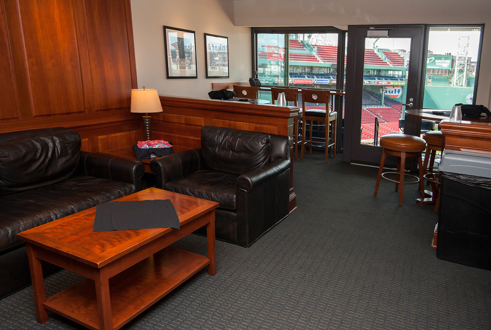 The Legends Suite at Boston's Fenway Park