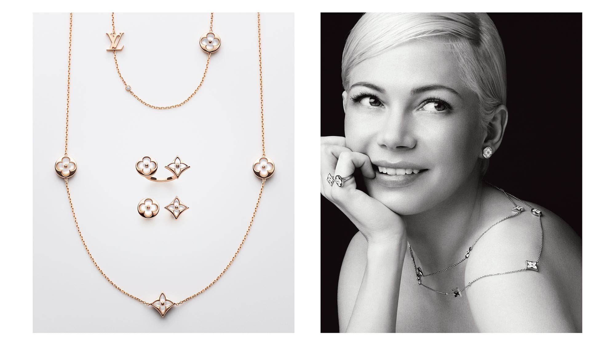 Louis Vuitton Blossom Jewelry Collection