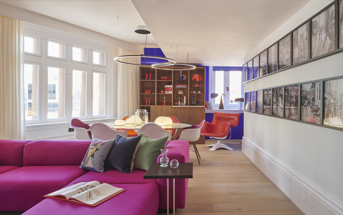 Inside the (RED) Suite at Andaz London