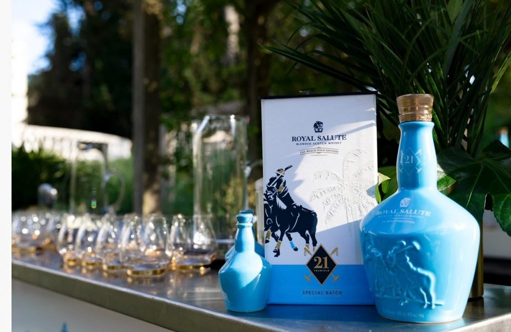 The Royal Salute 21 Year Old Beach Polo Edition