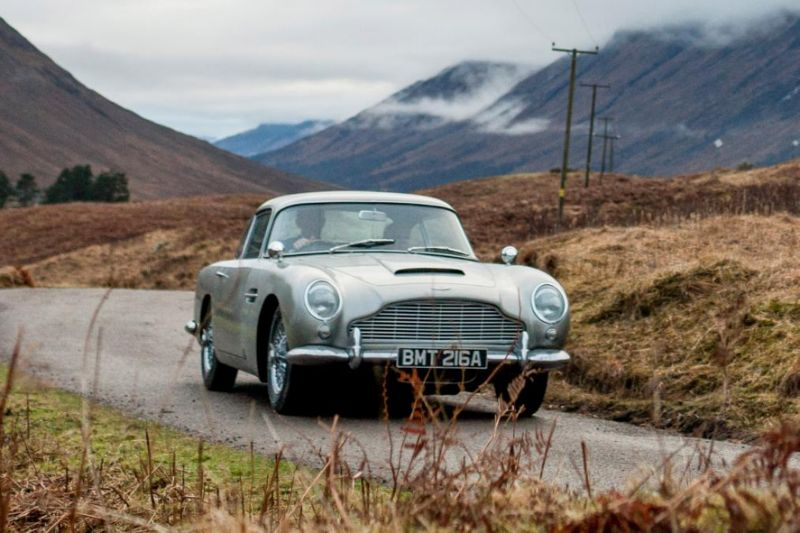 Aston Martin To Build James Bond 'Goldfinger' DB5s Costing $3.5 Million