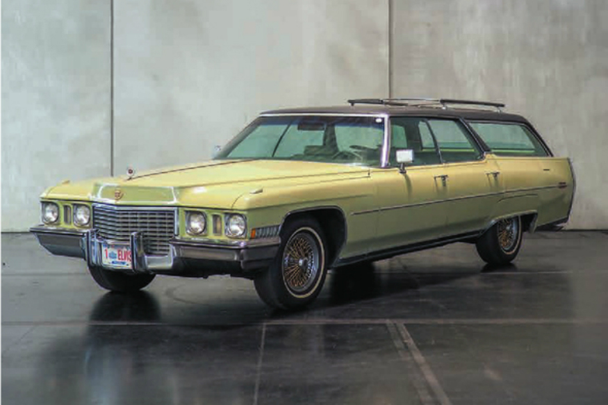 Elvis Presley's Cadillac Goes Up For Sale