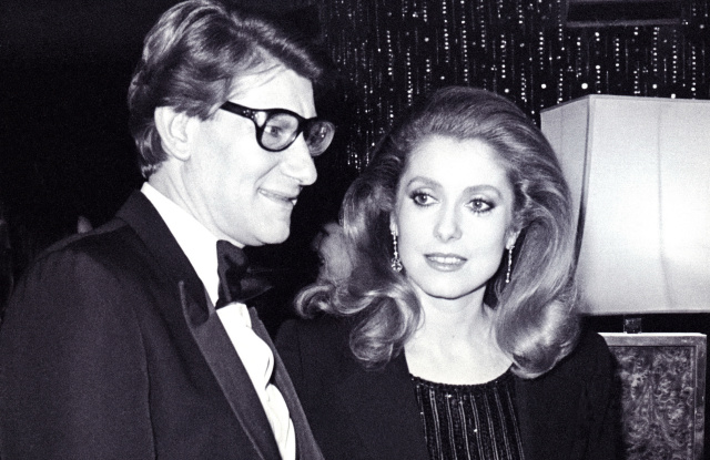 Catherine Deneuve To Auction Off Personal YSL Collection