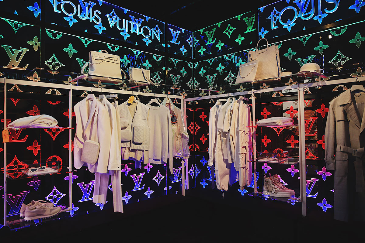 Virgil Abloh's Louis Vuitton Pop Up In London