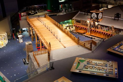Edo-Tokyo Museum in Tokyo Japan
