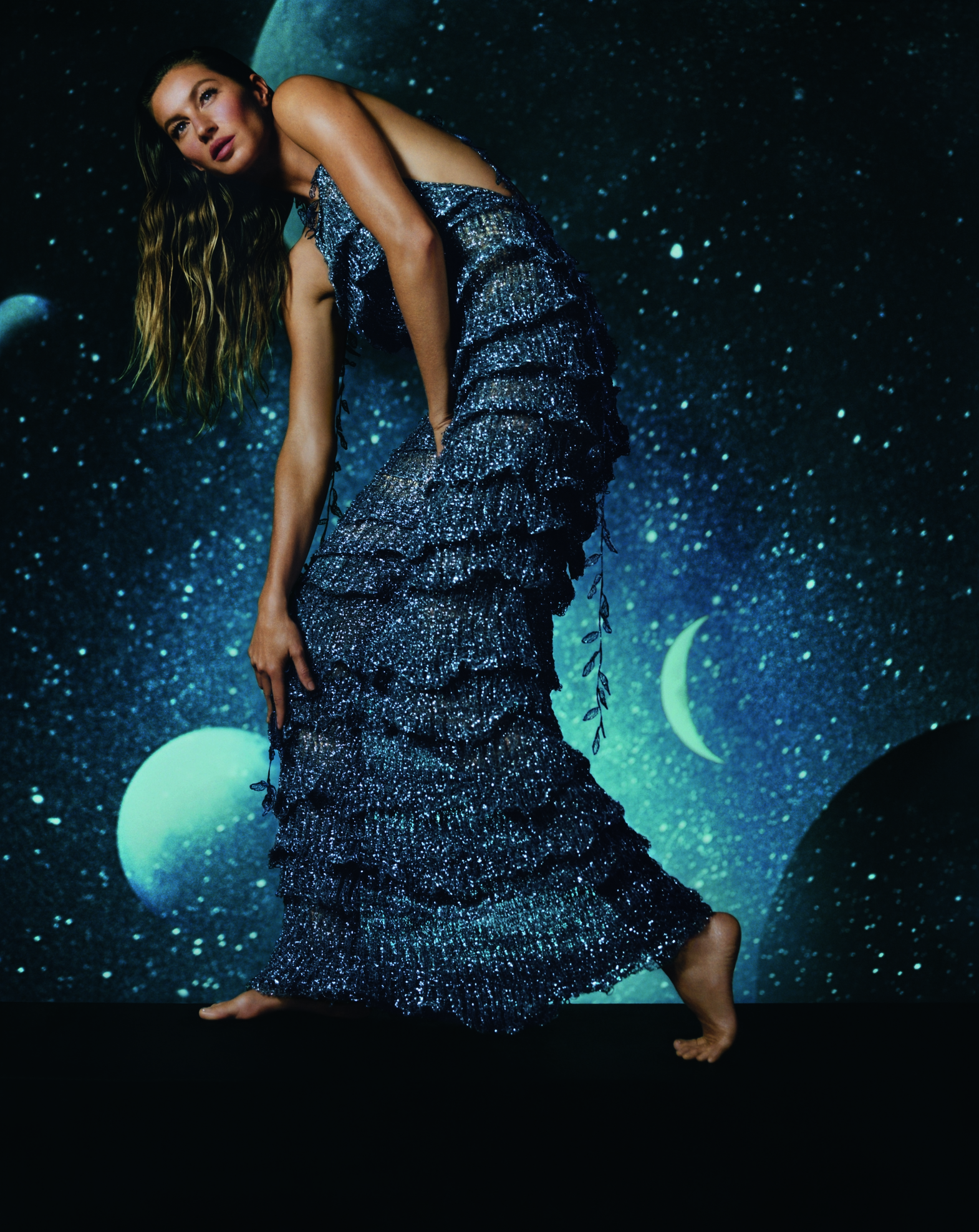 2073a8cf4138 Missoni Release S S 2019 Campaign with Gisele Büdchen and Tamino Amir  Moharam Fouad