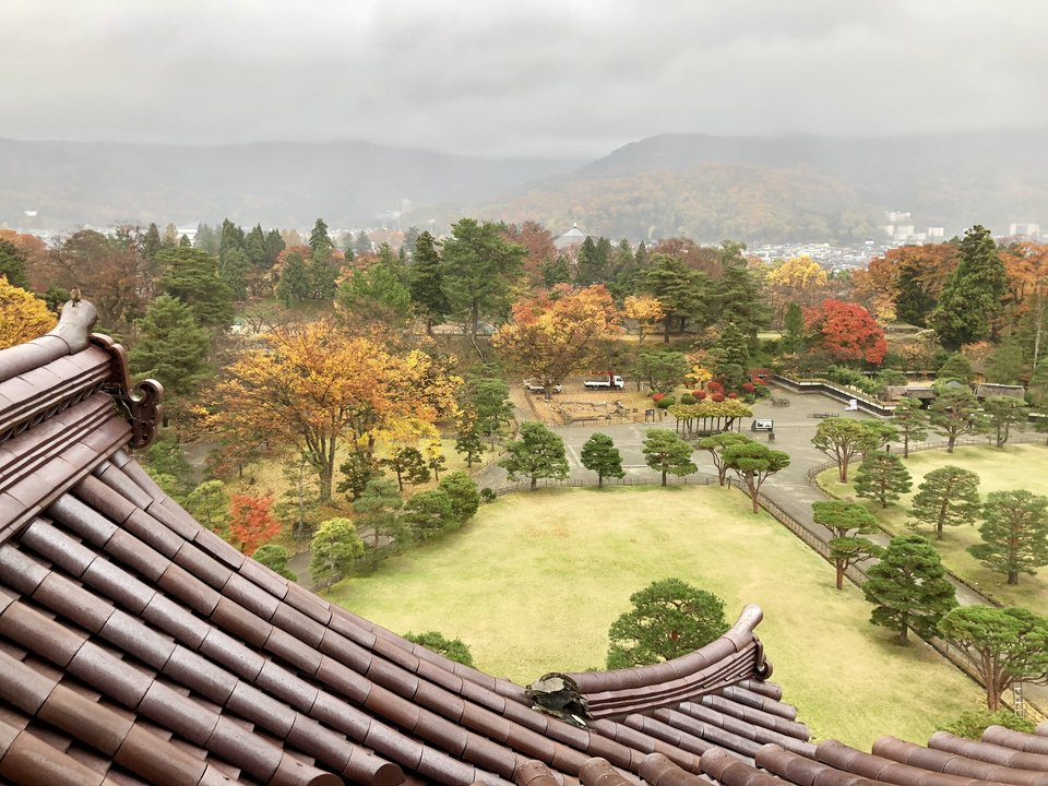 Tsurugajo Castle in Aizu Japan