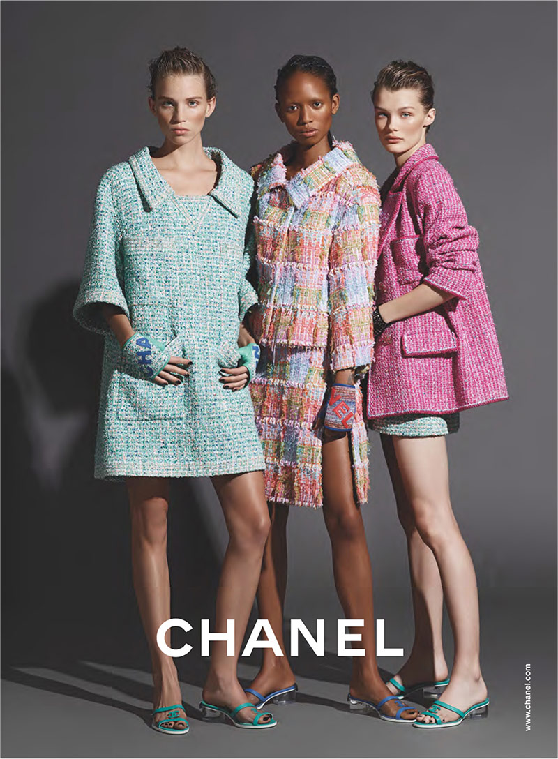 Karl Lagerfeld's Last Chanel Campaign