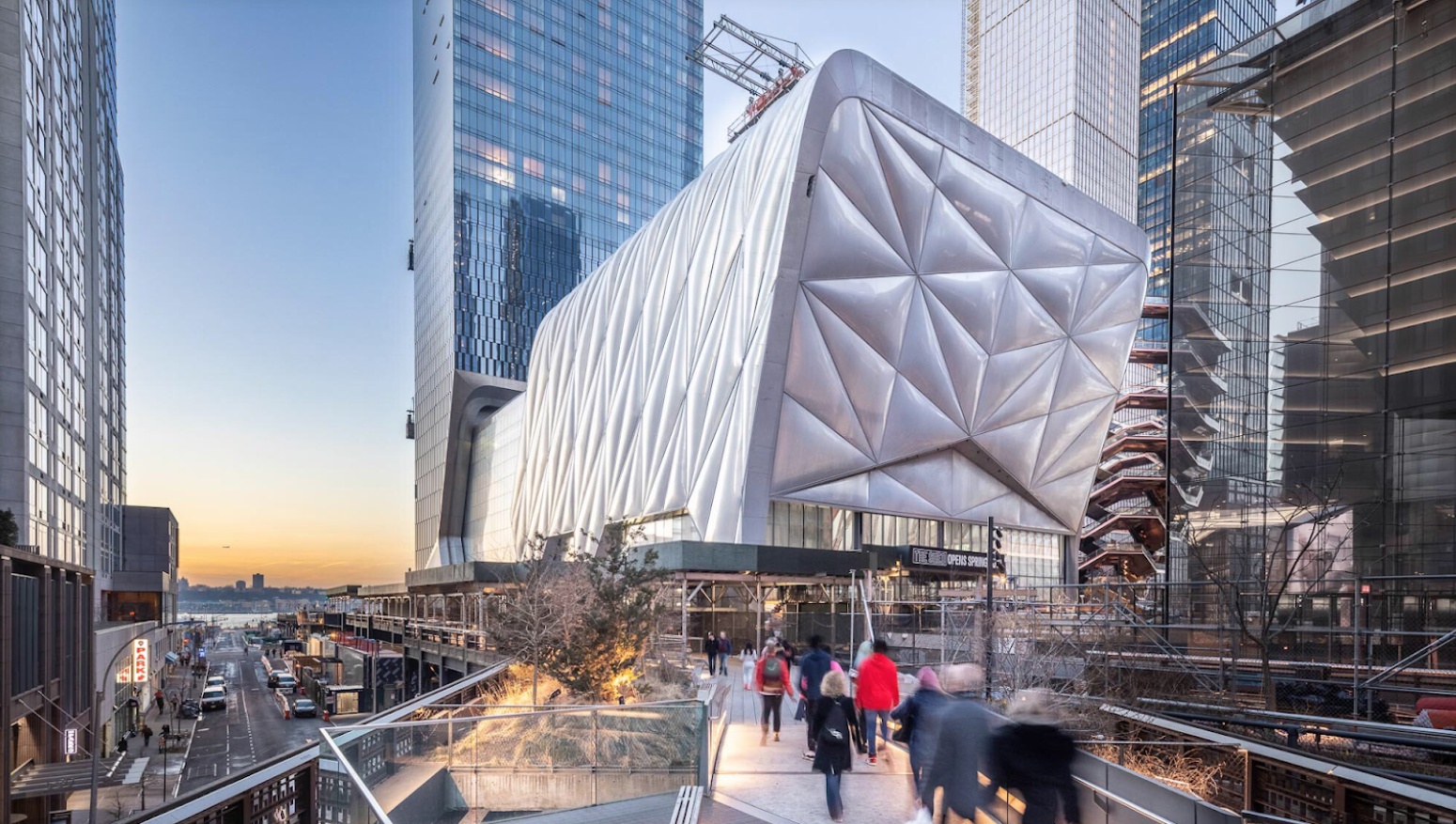 The Shed New York Hudson Yards