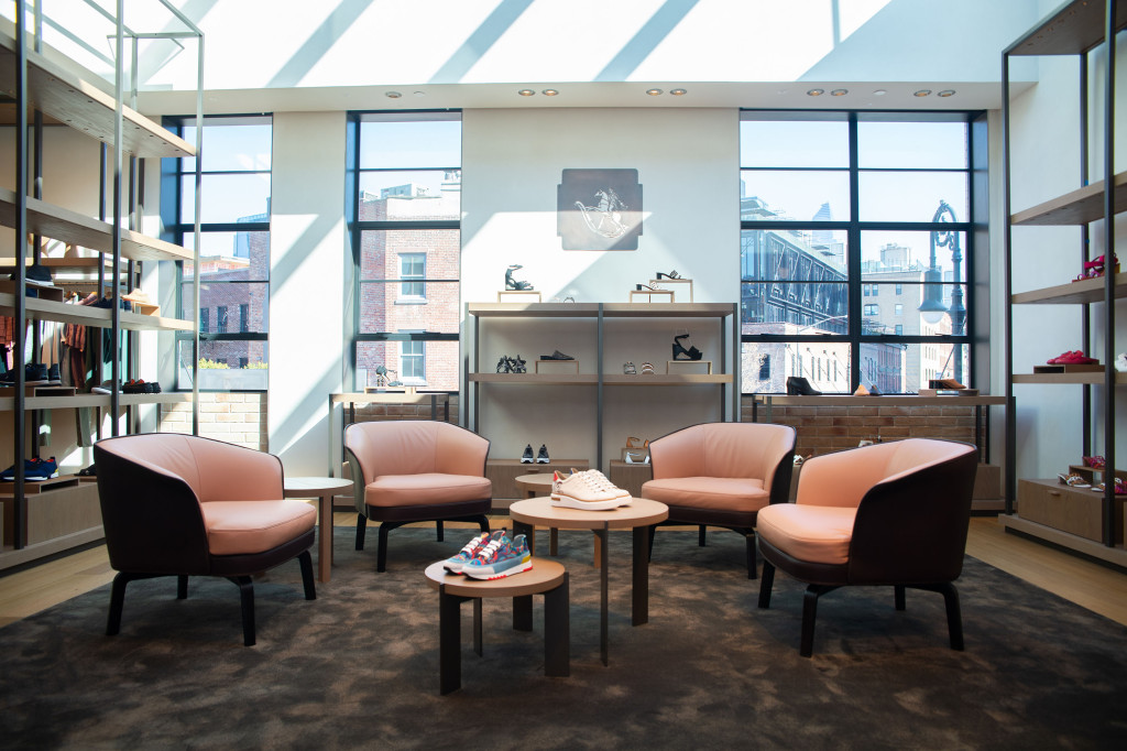 Hermès Open Boutique in Meatpacking District, New York