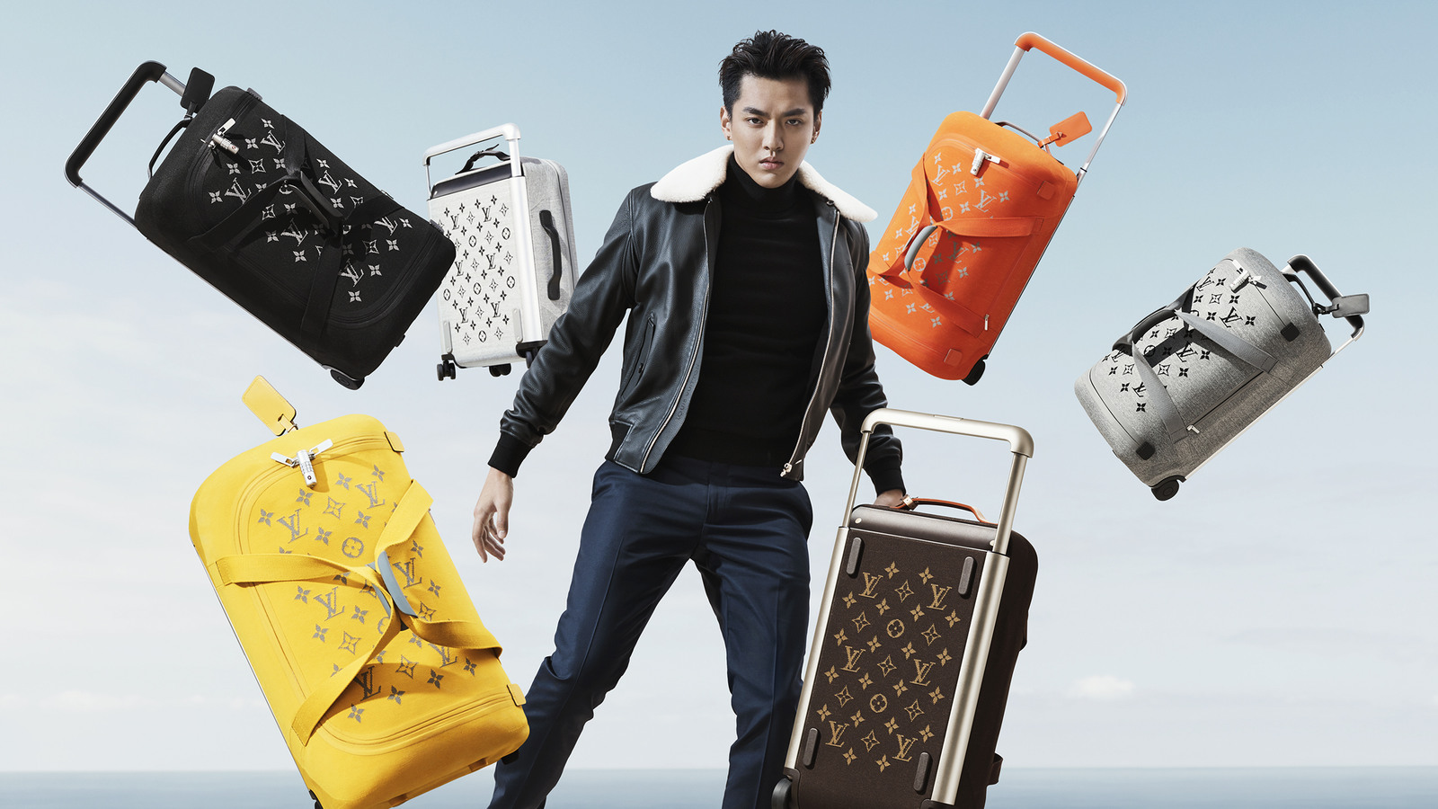 Louis Vuitton Horizon Soft Rolling Luggage Collection By Marc Newson