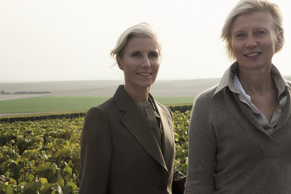 Alexandra Pereyre de Nonancourt and Stéphanie Meneux de Nonancourt, owners of Laurent-Perrier
