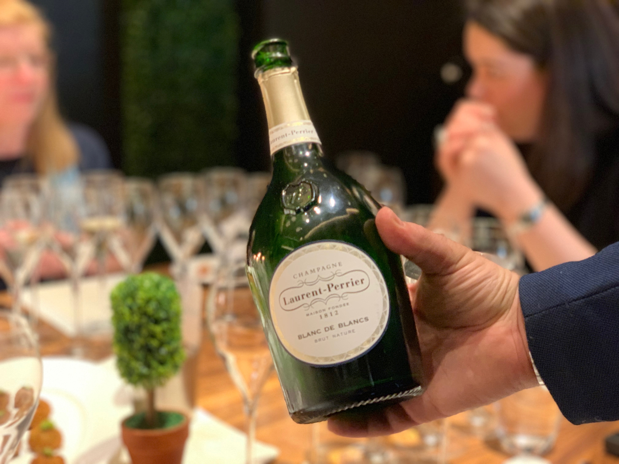 The Blanc de Blancs Brut Nature by Laurent-Perrier