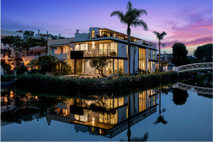 Rare Venice Canal California Home Hits the Market