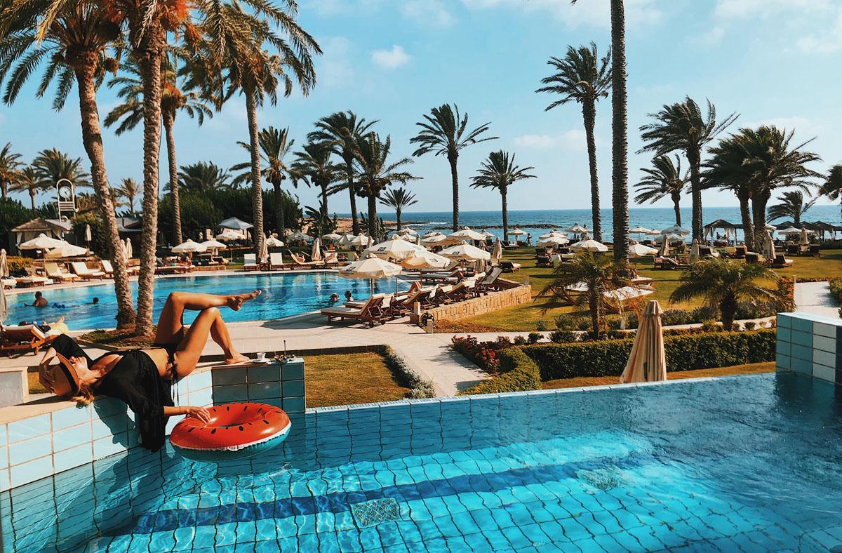 Linda Pavlova Visits Asimina Suites Hotel By Constantinou Bros Hotels
