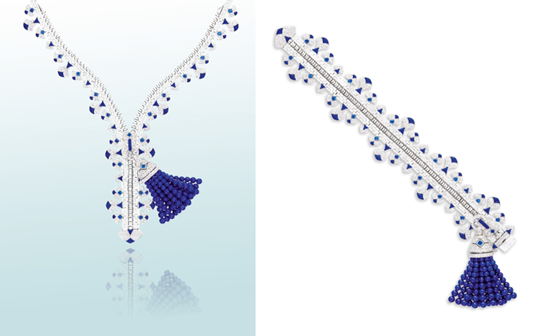Van Cleef & Arpels Rare and Unique 'Zip' Necklace/Bracelet up for Auction