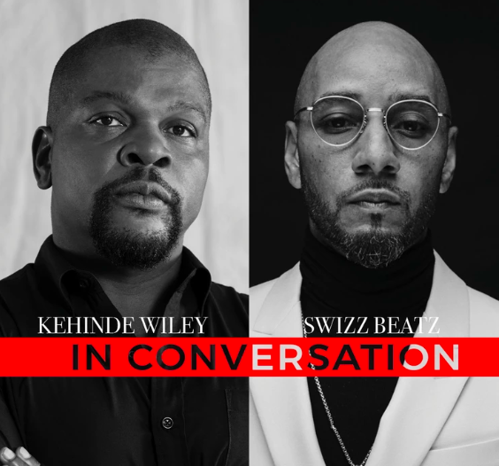 "Artist Kehinde Wiley and  Creative Visionary, Collector Kasseem ""Swizz Beatz"" Dean to Miami for Benefit During Miami Art Week"